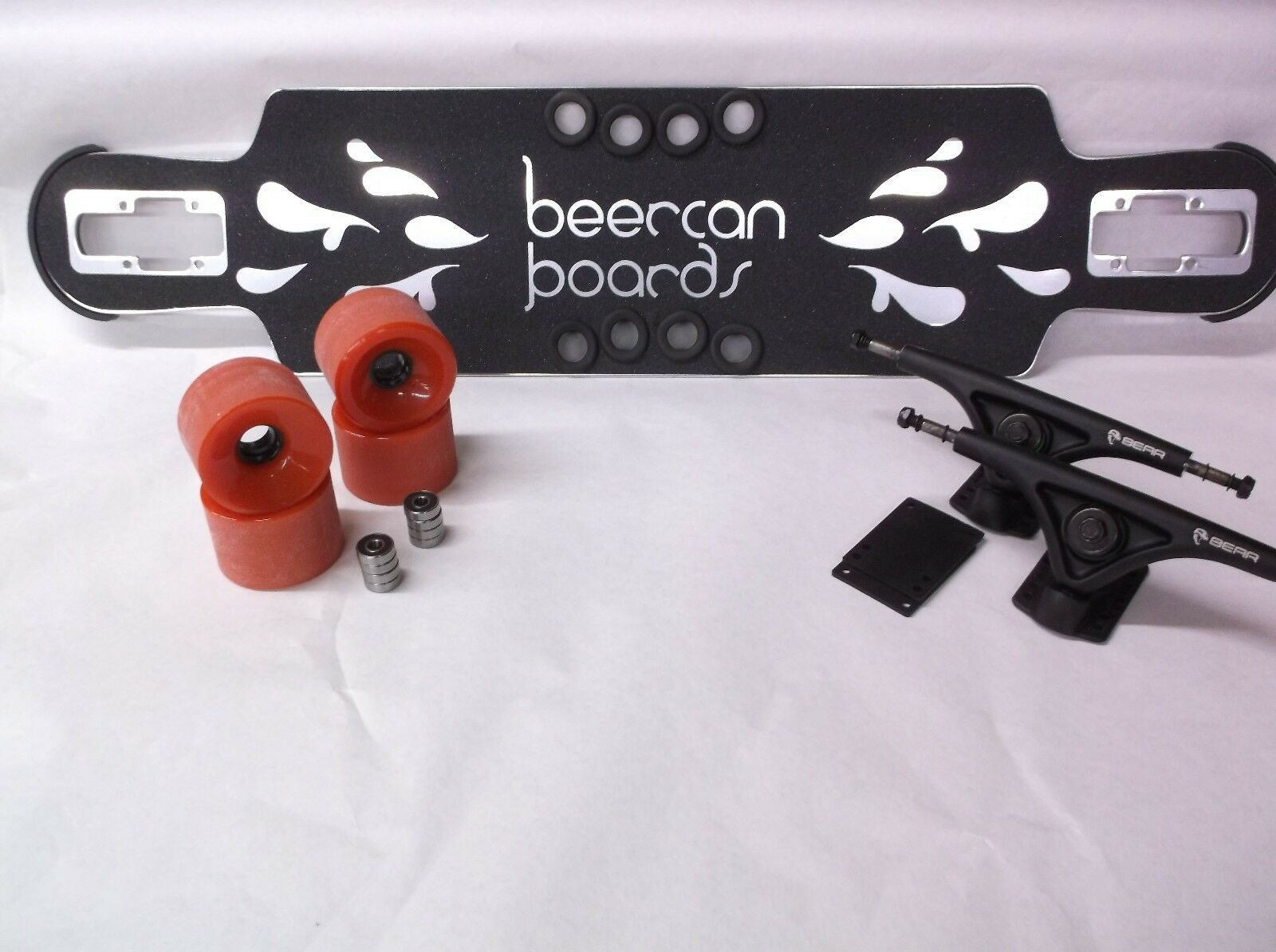 BEERCAN BOARDS CLEARANCE LONGBOARD COMPLETE  BEAR852'sBCB WHEELS 35 DT HOKE CHROM  discount store