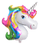 Supershape-42-034-Unicorn-Head-Foil-Rainbow-Purple-Pink-Balloon-Birthday-Party thumbnail 6