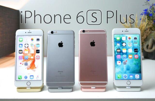 Apple iPhone 6S Plus Silver Gold Gray Rose Gold 16GB 32GB 64GB 128GB UNLOCKED