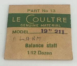 """Asse bilanciere Le Coultre 19/""""/"""" cal.211 R LEC"""