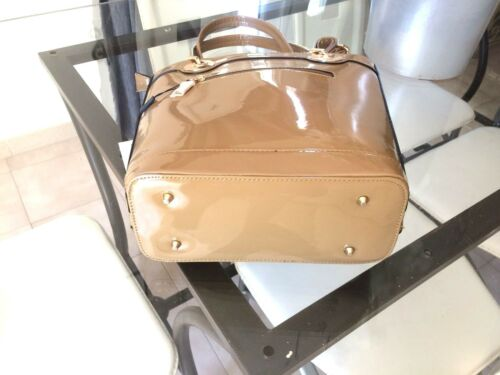 Rigid Tres Woman Paillettes Label Taupe Sublime Handbag New Chic and aT6ntHqw