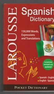 Details Sur Dictionnaire Larousse Spanish English English Spanish Livre Espagnol