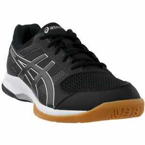 asics gelrocket 8 casual volleyball stability shoes black