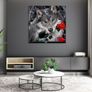 AU-Wolves-DIY-5D-Diamond-Painting-Embroidery-Animal-Cross-Stitch-Kits-Home-Deco