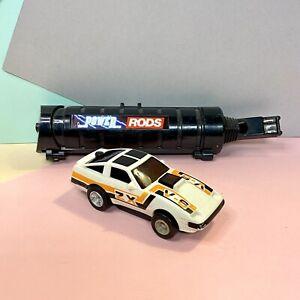 Retro-1984-ORIGINALE-Playskool-POWER-RODS-NISSAN-ZX-modello-ha-bisogno-di-batterie-nuove