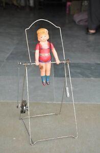 Celluloid japan toy up vintage wind