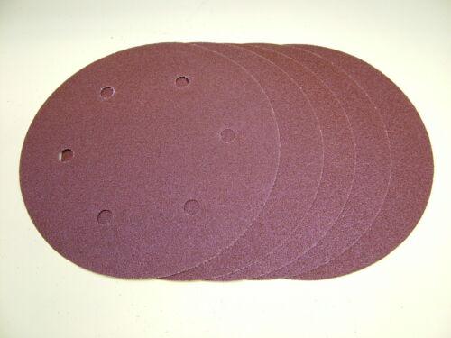"""225mm Sanding discs hook /& loop pack of 5,100 grit fit 9/"""" drywall giraffe sander"""