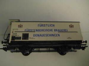 Marklin H0 4892 Furstlich Furstenbergische Brauerei Donau-Eschingen Wagon LNIB