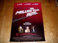 Kinoplakat A1 gerollt: The Million Dollar hotel  MEL GIBSON+MILLA JOVOVICH