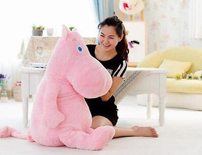 Kpop 2Ne1 Stuffed Cosplay Animals Plush Toy Pink Cute Hippo Moomin Pillow Kids