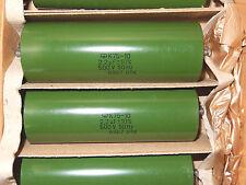 2.2uF 500V PIO caps K75-10 Lot of 2pcs. Hi-End NOS