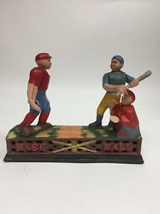 Reproduction-Mechanical-Baseball-Coin-Bank