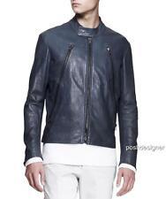 MAISON MARTIN MARGIELA Zip Leather Jacket IT48- RRP1800GBP