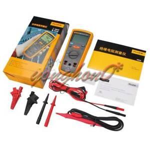 Details about New F1503 Fluke Digital Megger Insulation Resistance Tester  Meter 1503