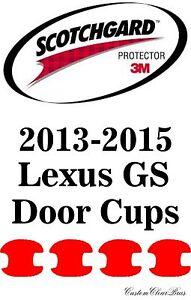3M Scotchgard Paint Protection Film Clear Bra Pre-Cut 2013 2014 2015 Lexus GS