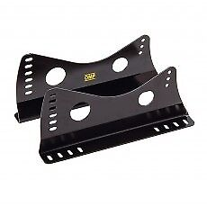 FIA-UNIVERSAL-OMP-RACING-SEAT-MOUNT-BRACKETS-BLACK-STEEL