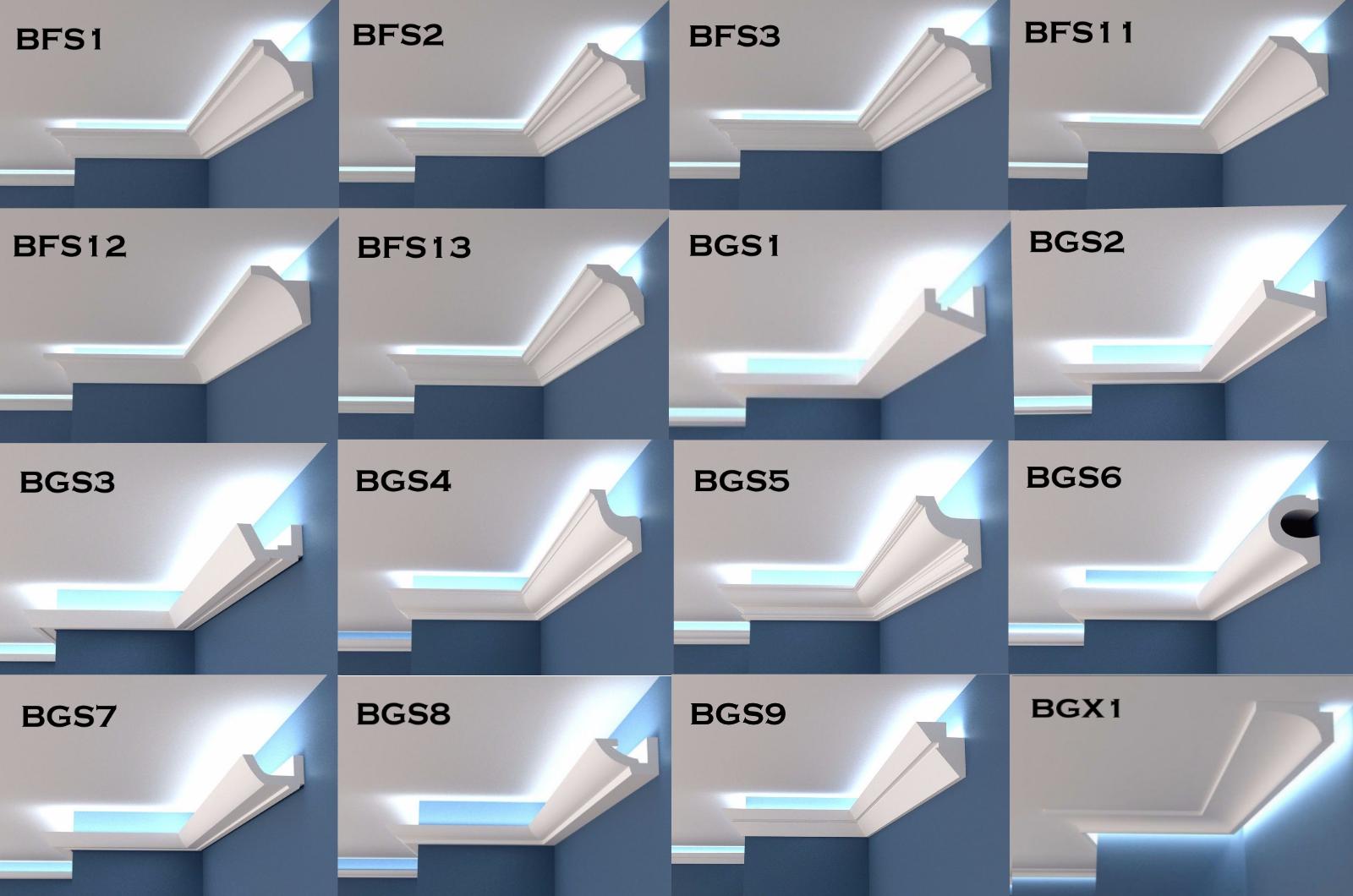 XPS BFS5 COVING LED Lighting molding cornice LOWEST PRICE LARGE SIZES QUALITY