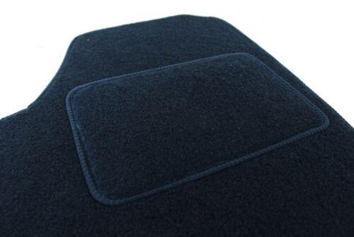 Fussmatten Velours für MERCEDES CLA Coupe C117 ab 2014 4tlg schwarz Bef.rund