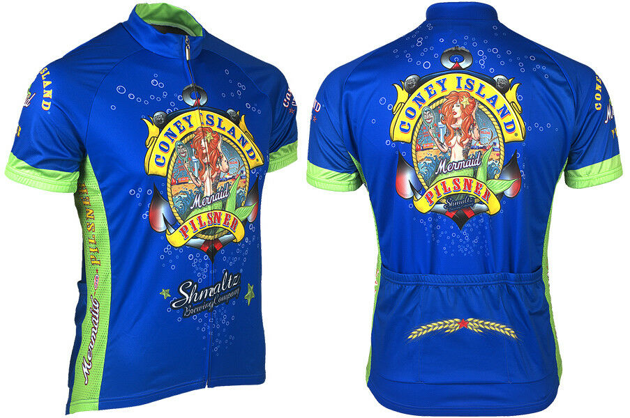 Microbrewery Men's Shumaltz Brewery  Cycling Jersey 3XL Hard to find big sizes   comfortable