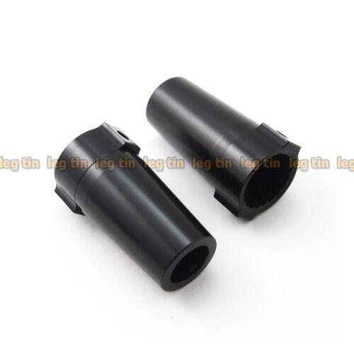 Alloy Rear Axle Lock-out Set 1 Pair Black for Axial Wraith LT10009bk