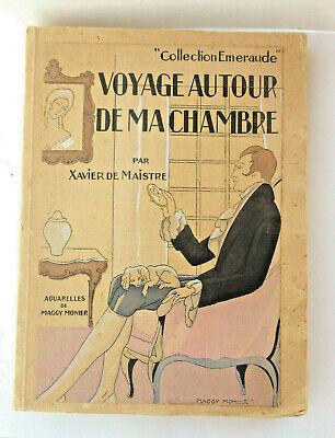 "XAVIER DE MAISTRE,livre "" voyage autour de ma chambre "",aquarelles de  Monier M.  eBay"