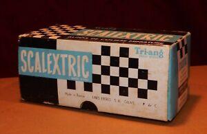 Scalextric-Caja-Vacio-Lister-Jaguar-Amarillo-Fabricado-en-Francia-Cmm-C-56