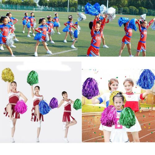 pompoms Cheerleading Cheering Ball Club Sport Supplies Dance Party Decorator