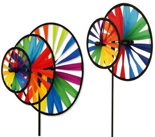 Windrad Magic Wheel Double 25cm oder Tripple 35cm Windmühle Windspiel Garten