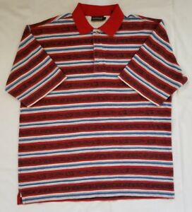 1a99db30 Image is loading Mens-Size-Large-Multicolor-Striped-Timberland-Weathergear- Polo-