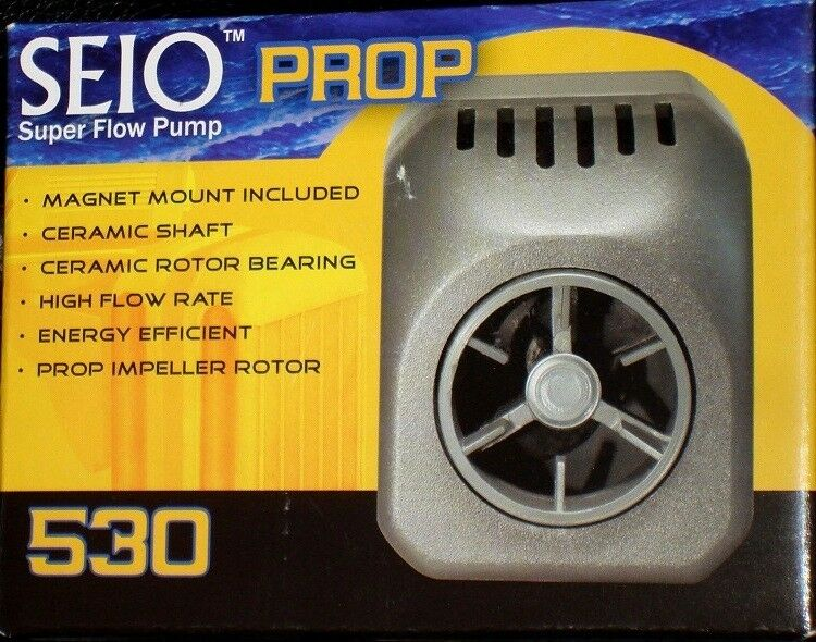 TAAM SEIO  P-530 PROP PUMP With MAGNETIC MOUNT  Powerhead   WaterPump  NEW