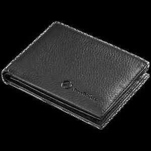 Mercedes benz mens black leather credit card wallet for Mercedes benz wallet