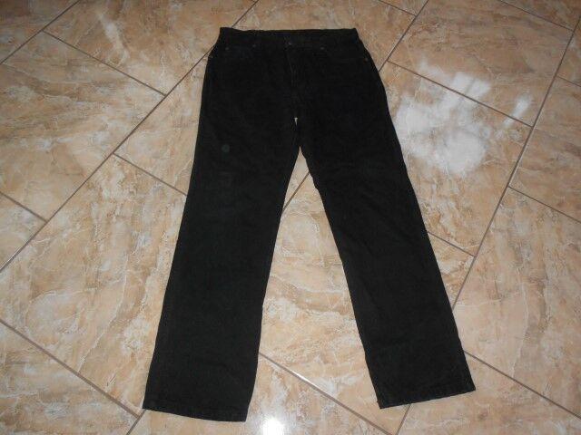 J1777 Wrangler Mens Regular Jeans W34 L32 Schwarz Sehr gut gut gut | Auf Verkauf  | Elegant  | Ausgezeichnete Leistung  | Deutschland Shop  | Kunde zuerst  214310