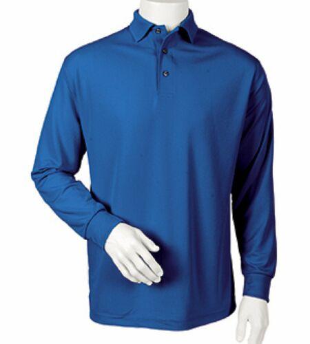 Paragon Men/'s Prescott Long Sleeve Polo 110