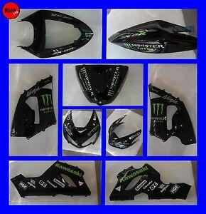 W Kit Adhesive Replica KAWASAKI Monster ZXR Motorcycle - Motorcycle stickersmotorcycle stickers ebay