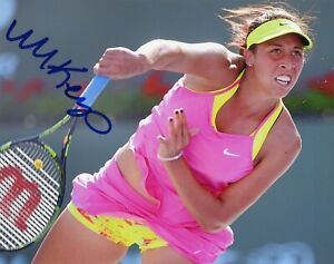 MADISON-KEYS-Authentic-Hand-Signed-034-American-Tennis-034-8x10-Photo