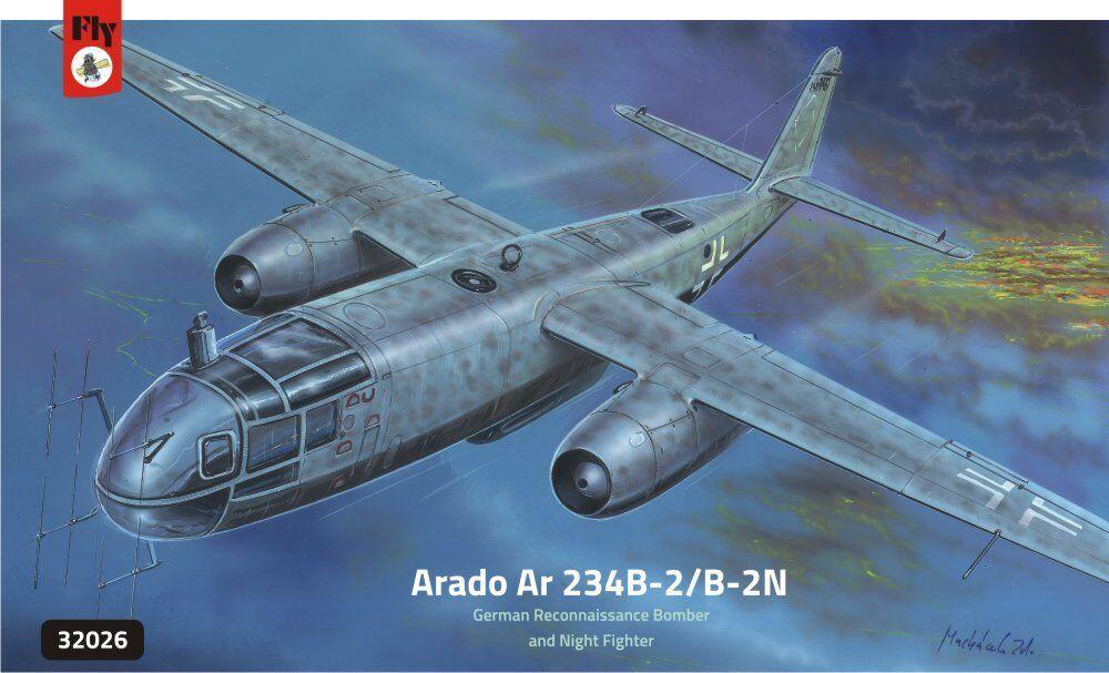 flygaga 1  32 Arado Ar 234 B -2  B -2N plastkit