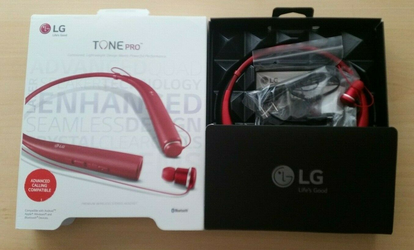 Lg Tone Pro White Model Bluetooth Headset Lbt 750 Wht For Sale Online Ebay
