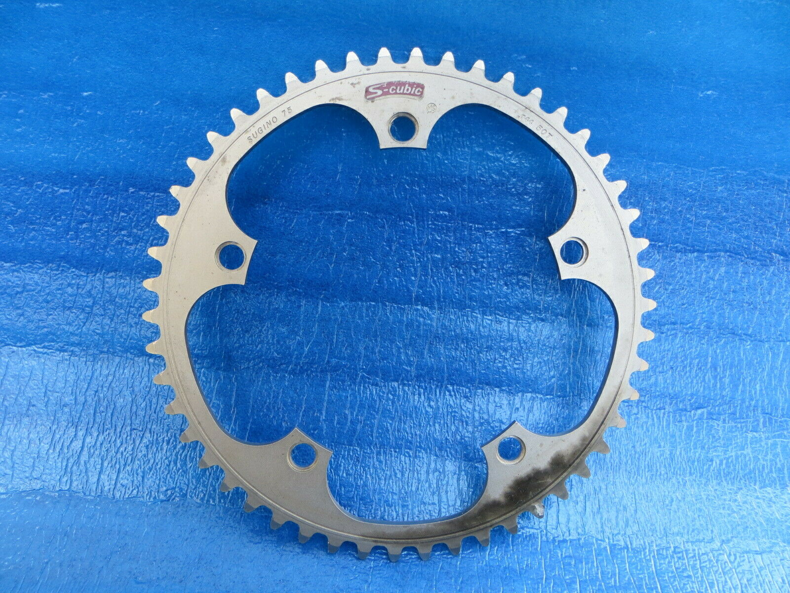 Sugino75 S-cubic 144BCD 1 8  NJS Chainring 50T Matte Finish (19030201)