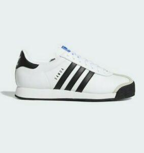 Details about Adidas Originals Samoa Cloud White Black Trainers Shoes UK 10 New Mens