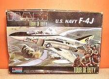 1/72 MONOGRAM F-4J PHANTOM TOUR OF DUTY MODEL KIT #5452