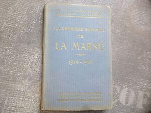 WWI-14-18-1914-1918-Guide-Michelin-La-Marne-Champs-de-bataille