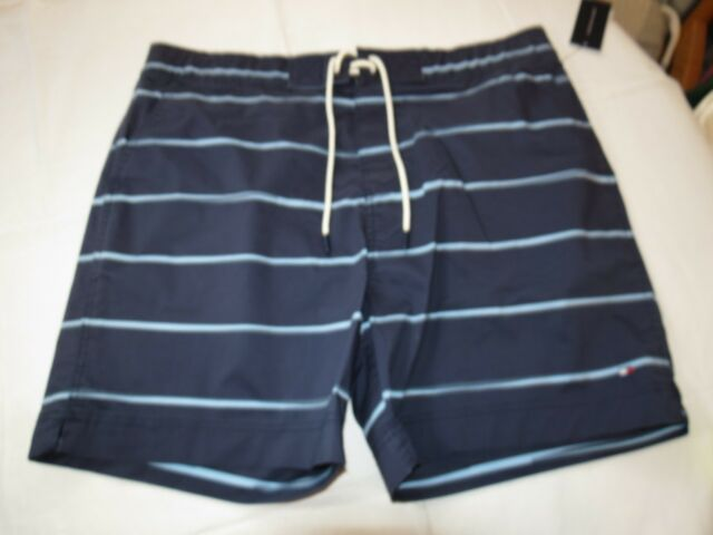 mens blue swim shorts lauren bags