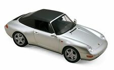 Norev 1/18: 187592 Porsche 911 Carrera Cabriolet (1993), Silber