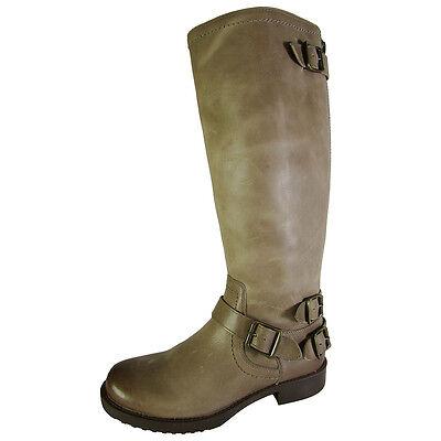 Arturo Chiang Women Ella Leather Riding Boot Shoe