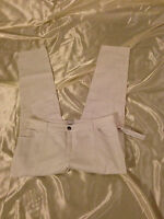 French Connection: Women Cargo Pants, Straight Leg: White, 2, 8, 12, 14