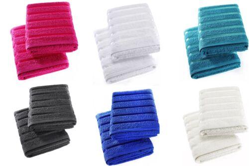 Lot de 2 luxe serviettes 100/% coton égyptien .2 bath sheets
