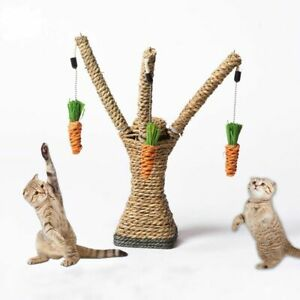 Cat-Toys-Interactive-Tree-Tower-Shelves-Climbing-Frame-Scratching-Sisal-Ropes