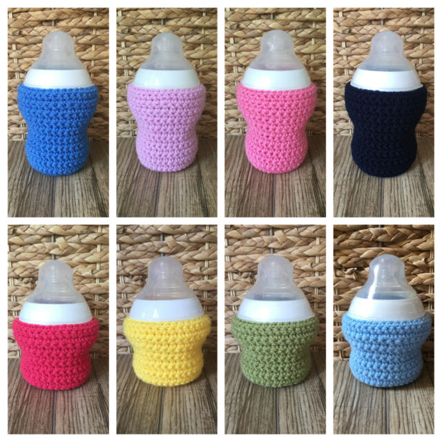 Dr Brown 9oz big MAM Hand crochet baby bottle cover  tommee tippee