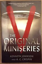 V The Original Miniseries by Kenneth Johnson TV Movie Tin-In PB Book (English)