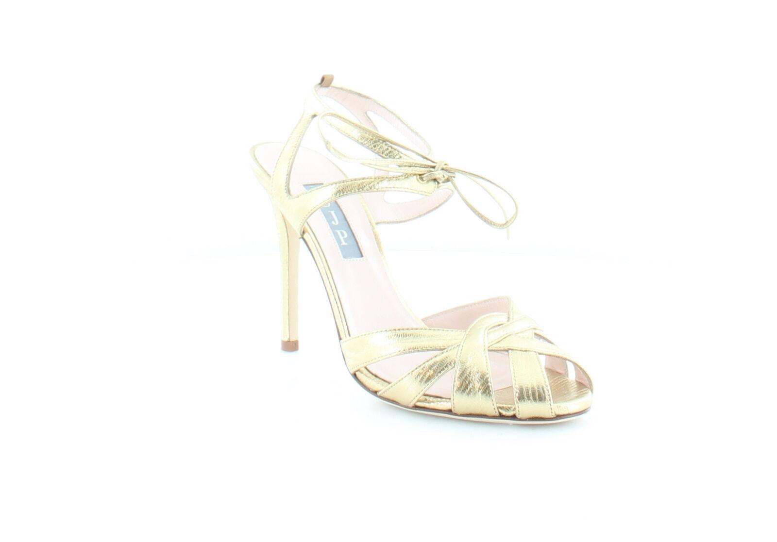 SJP by Sarah Jessica Parker Keating Gold Womens MSRP Shoes 5.5 M Heels MSRP Womens $385 d91d89